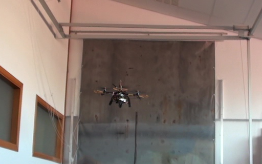 A Micro-Aerial Platform for Vessel Visual Inspection based on Supervised Autonomy