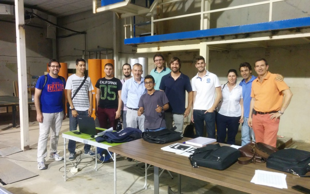 "Attendance of members of the SRV group to the ""Design of applications based on RPAS  (Remotely Piloted Aerial Systems)"" summer school"